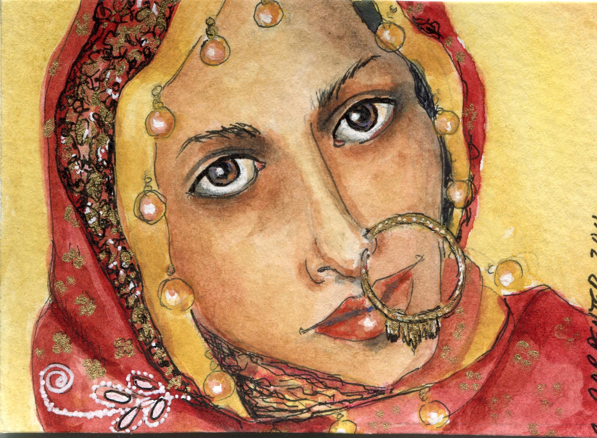 Exotic Indian Women swap loves gaze