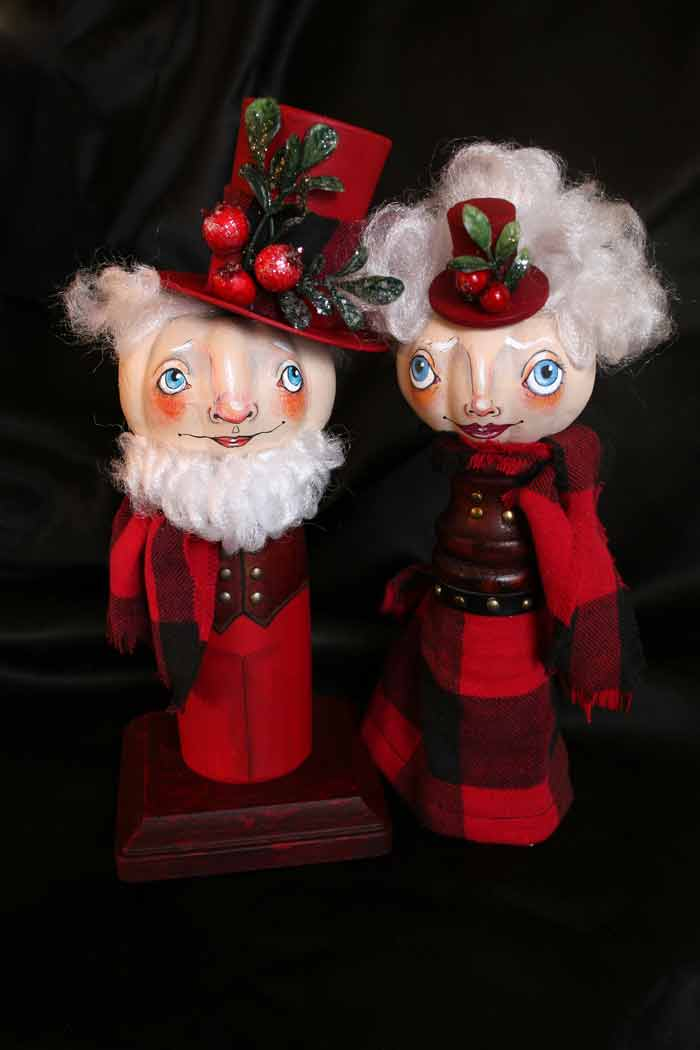 Steampunk-pair-mr-and-mrs-claus